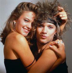 Diane Lane & Jon Bon Jovi circa 19-what-the-?