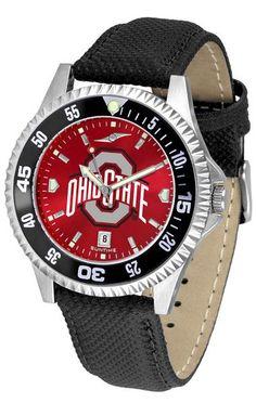 Ohio State Buckeyes Competitor Anochrome CB Watch