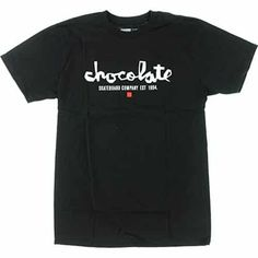 Brand: Chocolate Size: Medium Ride in style with this awesome brand new Chocolate Chunk Est Short Sleeve M-Black/White T-Shirt
