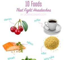 Tuesday Ten: Foods That Fight Headaches