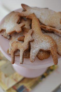 Vanilla sugar cookies from www.lattemamma.fi