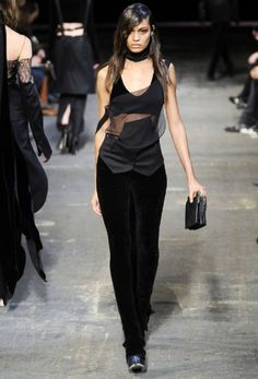 Just a bit of underground fashion. Black is always a great color to rock in any time zone.
