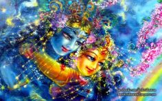 krishna radha wallpaper - Google-Suche