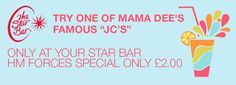 Star Bar Gibraltar - JC's banner