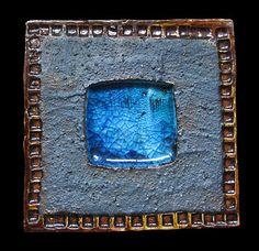 Tile by Ferreira da Silva - SECLA. Pottery Designs, Pottery Art, Mosaic Tiles, Mosaics, Portugal, Spain, Patterns, Inspiration, Slab Pottery
