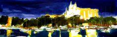 100x35 cm ©2014 por Jordi Serrat Jurado Painting, Artworks, Artists, Painting Art, Paintings, Painted Canvas, Drawings