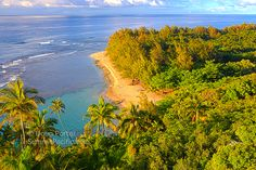 Kauai's Most Popular Beaches listed by island location, north shore beaches, south shore beaches, east shore beaches and west shore beaches.