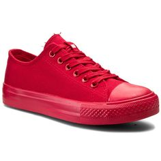 Trampki HEAVY DUTY - Pinscher Red Sneakers Fashion, Shoes, Types Of Shoes, Espadrilles, Shoes Sandals, La Mode, Zapatos, Shoes Outlet, Shoe