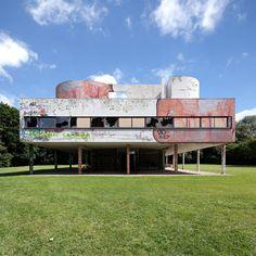xavier delory photography pilgrimage on modernity villa savoye le corbusier