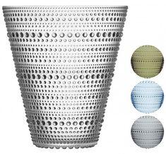 Iittala Kastehelmi Vase Höhe 15,4 cm