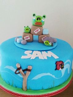 Angry Bird cake by Wintersgate Bakery