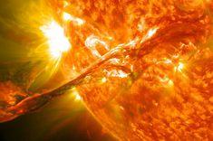 August 2012 -solar flare (CME)  foto NASA via nypost.com