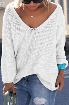 white sweater, a wardrobe essential