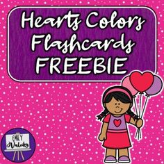 Happy Valentine's Day, teachers! As a special holiday treat, I'm happy to share this FREEBIE set of color flashcards...with a cute heart theme! These cards are great for practicing color vocabulary with young learners, as well as students in ESL and Special Education. My littles have loved seeing t...