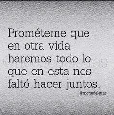 Prometeme El otra vida