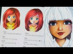 #Tutorial #Copic #Markers - PART TWO How to choose your colors ? By Emilie Jarrige