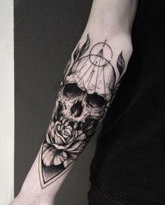75 Magical Tattoo Designs All Millennial Girls Will Love - TattooBlend Creepy Tattoos, Dope Tattoos, Badass Tattoos, Unique Tattoos, Beautiful Tattoos, Body Art Tattoos, New Tattoos, Skull Sleeve Tattoos, Japanese Sleeve Tattoos