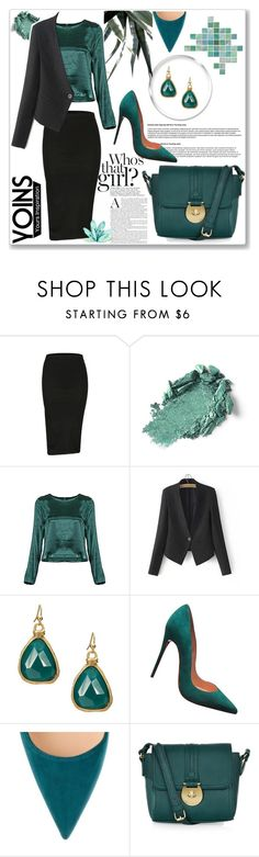"""Yoins IX"" by nerma10 ❤ liked on Polyvore featuring Christian Louboutin, Accessorize, MustHave and yoins"