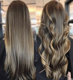 Luscious Balayage With Subtle Purple Tones - 20 Stunning Examples of Mushroom Brown Hair Color - The Trending Hairstyle Balayage Straight Hair, Brown Hair Balayage, Brown Hair With Highlights, Brown Blonde Hair, Light Brown Hair, Dark Balayage, Short Balayage, Dark Blonde, Ombre Hair Color