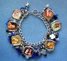 Virgin Mary charm bracelet