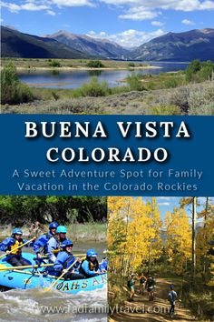 Family vacation in this active little mountain town of Buena Vista, Colorado is all things outdoorsy and adventurous. Whitewater thrills, hiking, biking, fishing, climbing, kayaking, and more await you in this sweet area of the Rocky Mountains. Play, eat, drink, shop and stay along the Arkansas River. Here's what to do in and around Buena Vista, plus great local restaurants after your outdoor fun. Camping And Hiking, Hiking Tips, Family Travel, Family Vacations, Colorado Hiking, Amazing Adventures, Outdoor Life, Outdoor Fun, Outdoor Activities