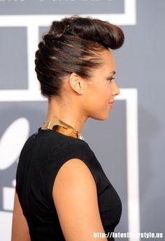 Keys hairstyles alicia