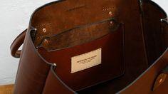 Leather Tote Bag Large CarryAll Shoulder Bag Australian