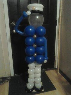 decoracion de globos marinero - Buscar con Google