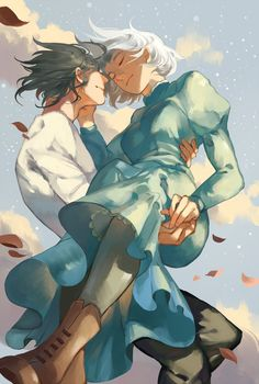 Howl's Moving Castle: Howl and Sophie