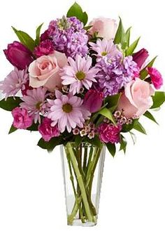 This 'Sweet Delight' arrangement is full of beautiful spring flowers professionally arranged by experienced floral artists. Order this arrangement from Weekly Flowers today! Flowers Today, Morning Flowers, Mothers Day Flowers, Online Flower Shop, Flower Delivery, Trees To Plant, Floral Arrangements, Wedding Flowers, Floral Design