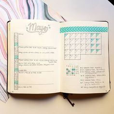 """46 Likes, 2 Comments - Juanma (@azahar.studies) on Instagram: """"monthly spread of may """""""
