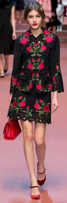 Dolce & Gabbana Autumn 2015