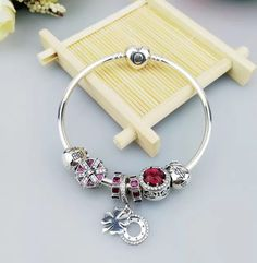 Great deal : Authentic pandora...order today get price off here!http://www.charmsilvers.com/products/authentic-pandora-bracelet-with-money-fortune-happiness-charms?utm_campaign=social_autopilot&utm_source=pin&utm_medium=pin
