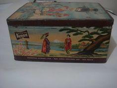 Lata Antiga Biscoitos Aymoré - Anos 50/60 - Raridade! - R$ 55,00 em Mercado Livre
