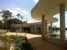 Casa de baile - Pampulha - Oscar Niemeyer