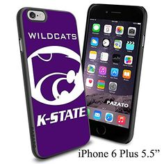 """NCAA WILDCATS K-STATE K STATE , Cool iPhone 6 Plus (6+ , 5.5"""") Smartphone Case Cover Collector iphone TPU Rubber Case Black Phoneaholic http://www.amazon.com/dp/B00VVQRPVY/ref=cm_sw_r_pi_dp_mhmnvb0XY1DZK"""
