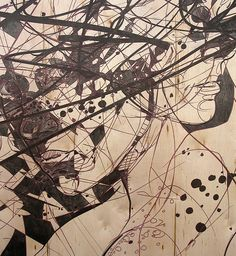 Patternbank are loving Jason Thielke's stylised linear interpretations of the human form. Jason Thielke's beautiful imagery navigates the astoundingly comp