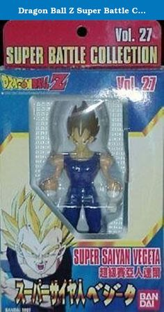 Dragon Ball Z Super Battle Collection Vol 27 Super Saiyan Vegeta. These classic figures are what started the Dragonball craze years and years ago! Featuring the many and varied characters from the action-packed anime this is one of the most sought-after lines in the history of action figures.