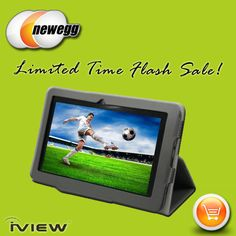 Now on Newegg for $99. Limited time only www.newegg.com #tablet #android #iview