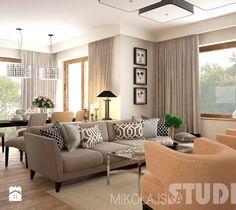 Salon w stylu eklektycznym - zdjęcie od MIKOŁAJSKAstudio
