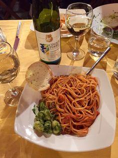 Spaghetti and gnocchi