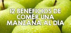 12 increíbles beneficios de comer una manzana al día  http://nutricionysaludyg.com/nutricion/beneficios-propiedades-comer-manzana/