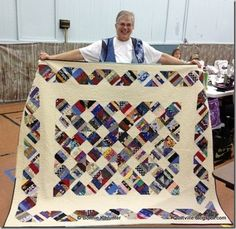 String X all from scraps!  Free pattern found here:  http://quiltville.blogspot.com/p/free-patterns.html