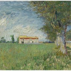 Farma w Wheatfield, Van Gogh