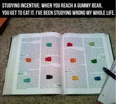 New studying technique