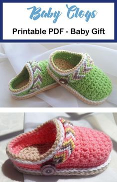 Baby Shoes Crochet Patterns Baby Gift A More Crafty Life crochet baby babygift diy Crochet Baby Sandals, Booties Crochet, Crochet Baby Clothes, Crochet Shoes, Crochet Slippers, Cute Crochet, Crochet For Kids, Baby Shoes Pattern, Baby Patterns