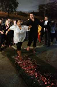 Fire walk with Tony. I did this in 1991 in a lightning storm in NJ. Life changing!
