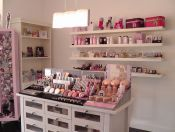 my fav Regina, SK beauty boutique Blush Beauty Bar, Beauty Boutique, Liquor Cabinet, Storage, Makeup, Home Decor, Products, Fashion, Purse Storage