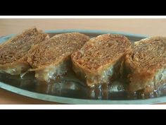 Ružice sa orasima - Bajramska, tradicionalni zaljeveni kolač - Baklava - YouTube Bosanska Baklava, Baklava Recipe, Serbian Recipes, Serbian Food, Posna Predjela, Baking Recipes, Cake Recipes, Macaroons, No Bake Cake