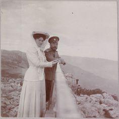 Фотографии царской семьи из архива Анны Вырубовой
